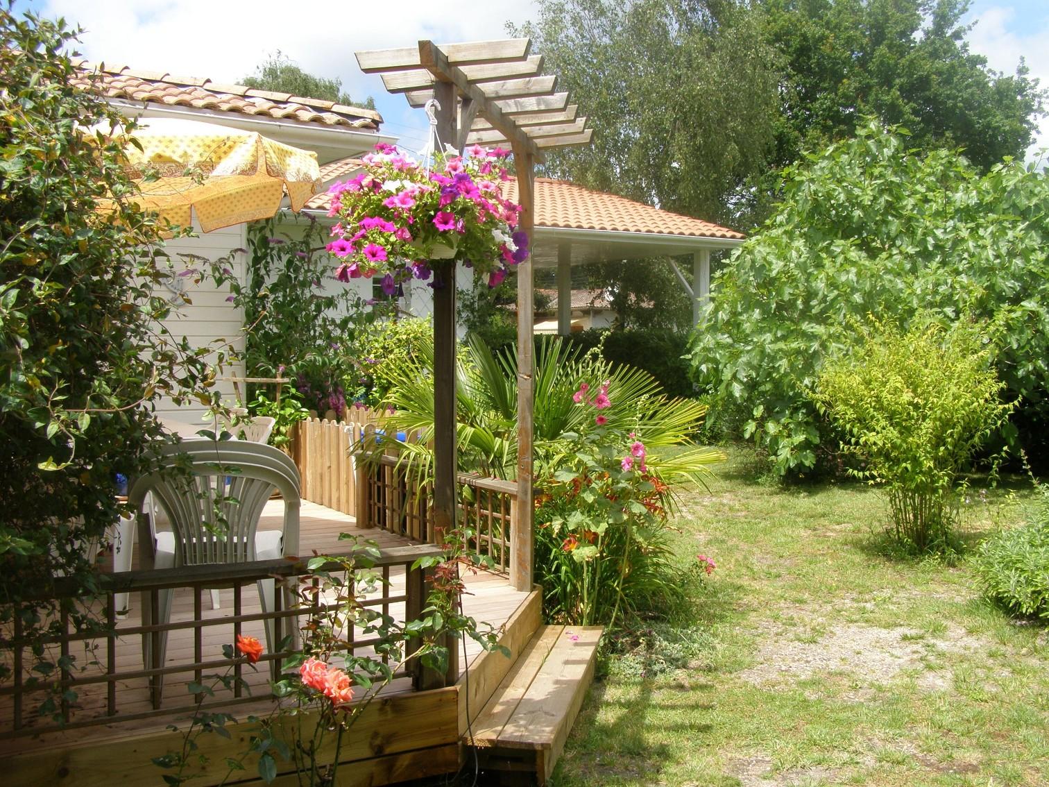 terrasse et accès